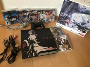 Sony PS3 Final Fantasy XIII 13 Lightning Edition Ver.2 320G Very Good Condition