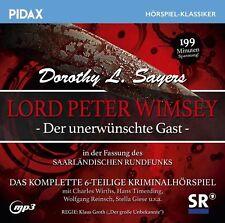 Fassung des SR: Lord Peter Wimsey Der unerwünschte Gast * CD Hörspiel Pidax