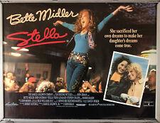 Cinema Poster: STELLA 1990 (Quad) Bette Midler John Goodman Trini Alvarado