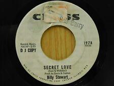 Billy Stewart single sided DJ 45 Secret Love - Chess VG+