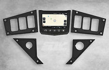 2017 Polaris RZR XP 1000 Ride Command Dash Panel Plate Black NEW Custom