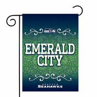 "Seattle Seahawks NFL Garden Flag Officially Licensed Paisley 13"" x 18"""