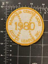 Vintage Magnolia Center Lions Little League Inc 1980 Patch Baseball Riverside CA