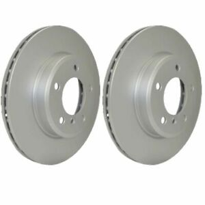 Hella Front Brake Discs Pair 276mm 52148PRO fits Mercedes VITO 638 108 D 2.3