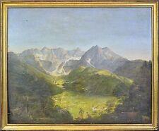 Originale künstlerische Malerein der Zeit 1800-1899 Romantik