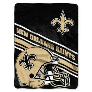 New Orleans Saints Royal Plush Blanket 60 x 80