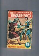 CAPITAN TRUENO LOS PIRATAS ARGELINOS COLECCION HEROES BRUGUERA 15 1967