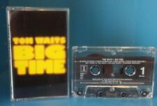 Tom Waits Big Time CASSETTE Audio Tape (US VERSION 7 90987-4) **RARE**