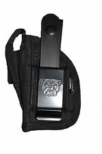 Smith & Wesson Bodyguard 380 With Laser Nylon OWB Gun holster
