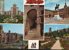 ANTIGUA POSTAL RECUERDO DE MADRID POSTCARD POSTKARTE                     CC01558