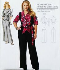 52decb12621 Misses Jacket Belt Pants Pattern Connie Crawford Butterick B5575 New Uncut  XS-X