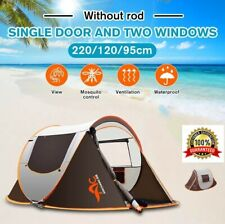 2-3 People Double Layer Waterproof Camping Tent Outdoor Large Family Tent Canopy