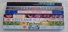 Satya Nag Champa Padmini Hem 7 Box Incense Stick Sampler Lot - Best Top Sellers