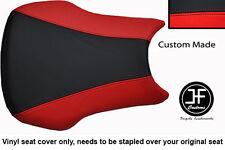 Personalizado de vinilo negro y rojo se adapta a Honda CBR 600 RR3 RR4 03-04 Cubierta de asiento solamente