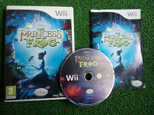 NINTENDO Wii GAME DISNEY THE PRINCESS & THE FROG +BOX INSTRUCTIONS COMPLETE PAL