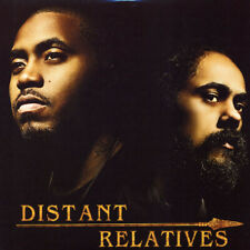 Nas & Damian Marley ‎- Distant Relatives 2 x LP - Vinyl Album - SEALED Record