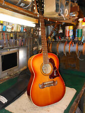 Vintage 1970's Framus Western 5/195 Acoustic Guitar W Case Light Use