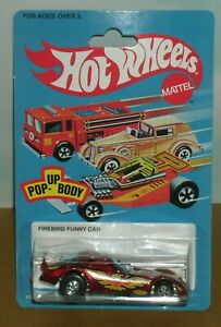 1/64 Scale Pontiac Firebird Funny Car Diecast Dragster - Hot Wheels 18871 Red