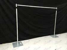 10ft Telescopic Wedding Backdrop Stand, Pipe and Drape system