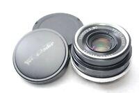 Voigtlander Color-Skopar 35mm F/2.5 MC Lens for M mount From JAPAN #n38