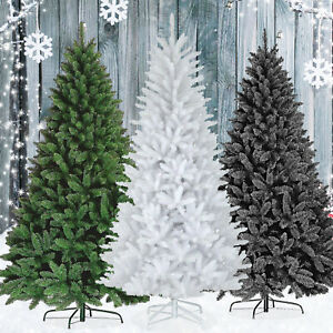 4ft-8ft Christmas Tree Colorado Pine Artificial Spruce Traditional Xmas Gift
