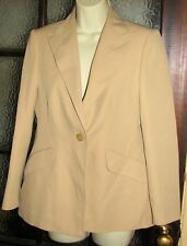 *M&S* beige Jacket size 12
