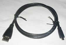 1M HDMI CABLE Type A to Type D MICRO - High Speed HD TV Cord/Lead/Wire NEW 3.3ft