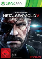 NEU/OVP Xbox 360 Metal Gear Solid 5 Ground Zeroes Tactical PRE Phantom Pain MGS