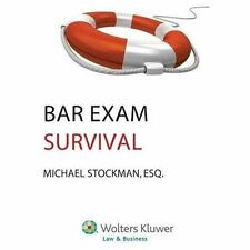 Bar Exam Survival Guide by Michael Stockman (2013, Paperback)