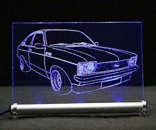 Opel Kadett C als  AutoGravur auf LED-Schild c-kadett