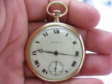 Patek Philippe - Shreve & Co Open Face Pocket Watch 18K