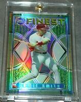 1995 TOPPS FINEST REFRACTOR #217 OZZIE SMITH CARDINALS SHARP
