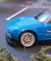 Custom Forgiato Finestro Wheels 1:64 Scale Hot Wheels Matchbox