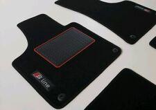 Alfombrillas profesionales gamuza logotipo tapices adecuado para Seat Leon I 1m a partir del año 1999-2006