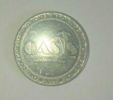 Oasis One Dollar Casino Gaming  Token  Mesquite NV