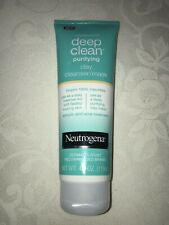 Neutrogena Deep Clean Purifying Clay Cleanser/Mask 4.2 oz Salicylic Acid Treat
