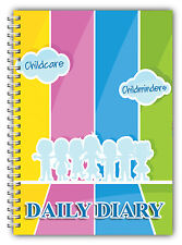 A5 DIARY EYFS CHILDCARE PROVIDER/CHILDMINDER DIARY/ MY DAILY DIARY