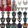 Fashion Women Bohemia Pendant Choker Chunky Chain Bib Necklace Statement Jewelry
