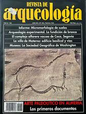 REVISTA DE ARQUEOLOGIA, Febrero 1992, XIII No. 130, Spain / Madrid, 66pgs