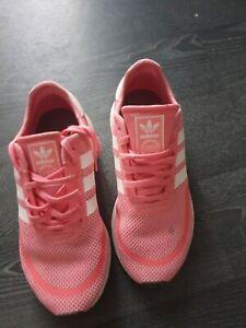 Adidas ortholite pink trainers size 5
