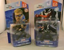 2 Disney Infinity Marvel Super Heroes: Venom & Hawkeye MIP