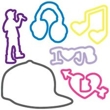 Silly Bandz - Rubber Bracelets - Justin Bieber - Pack of 24 - Assorted