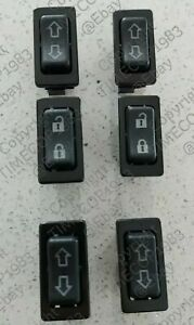 HUMMER H1 6-pack POWER WINDOW and LOCK SWITCH Kit LED door button AM General