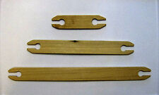 "Weaving Shuttles--6"", 12"" and 16""--Wood--Hand Carved--Hand Crafted"