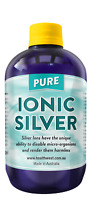 Colloidal/Ionic Silver 500ml Positively Charged Bacteriostatic