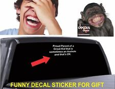 Decal Vinyl Graphics Bumper Window Body Funny Sticker for any Cars or Trucks