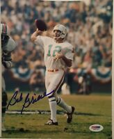 Bob Griese Signed Dolphins 8x10 Photo - PSA/DNA COA
