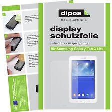 2x dipos Samsung Galaxy Tab 3 Lite T110 Protector de Pantalla protectores mate