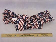Retired Longaberger 1998 All American Xl Garter Red,White,Blue Stars Stripes