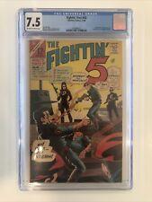 Fightin' Five #40 CGC 7.5 first appearance of Peacemaker JOHN CENA